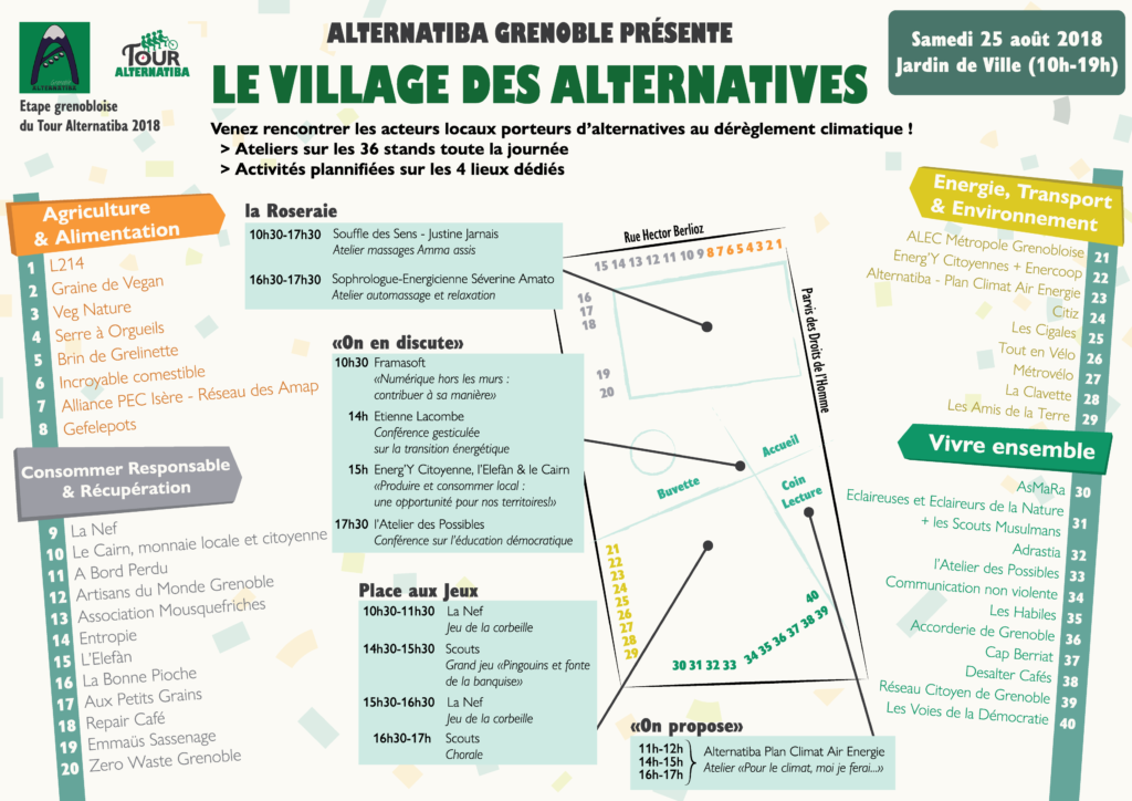 programme village des alternatives